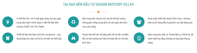 Tai sao nen dau tu Saigon Mystery Villa