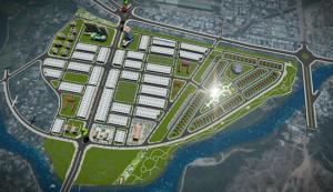 Phối cảnh dự án Khu Đô Thị nam Hùng Vương