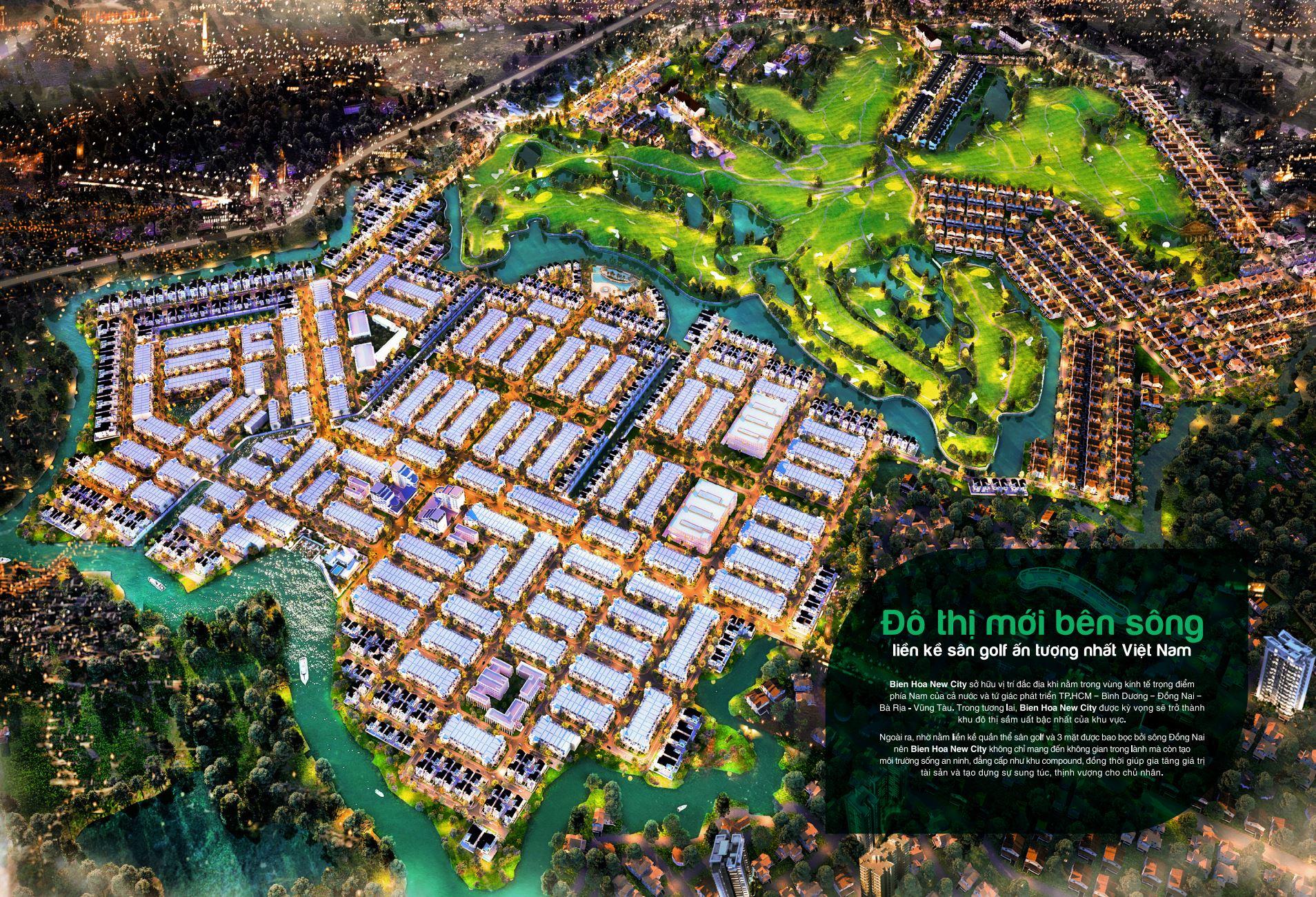Bien Hoa New City – Đô Thị Mới Bên Sông