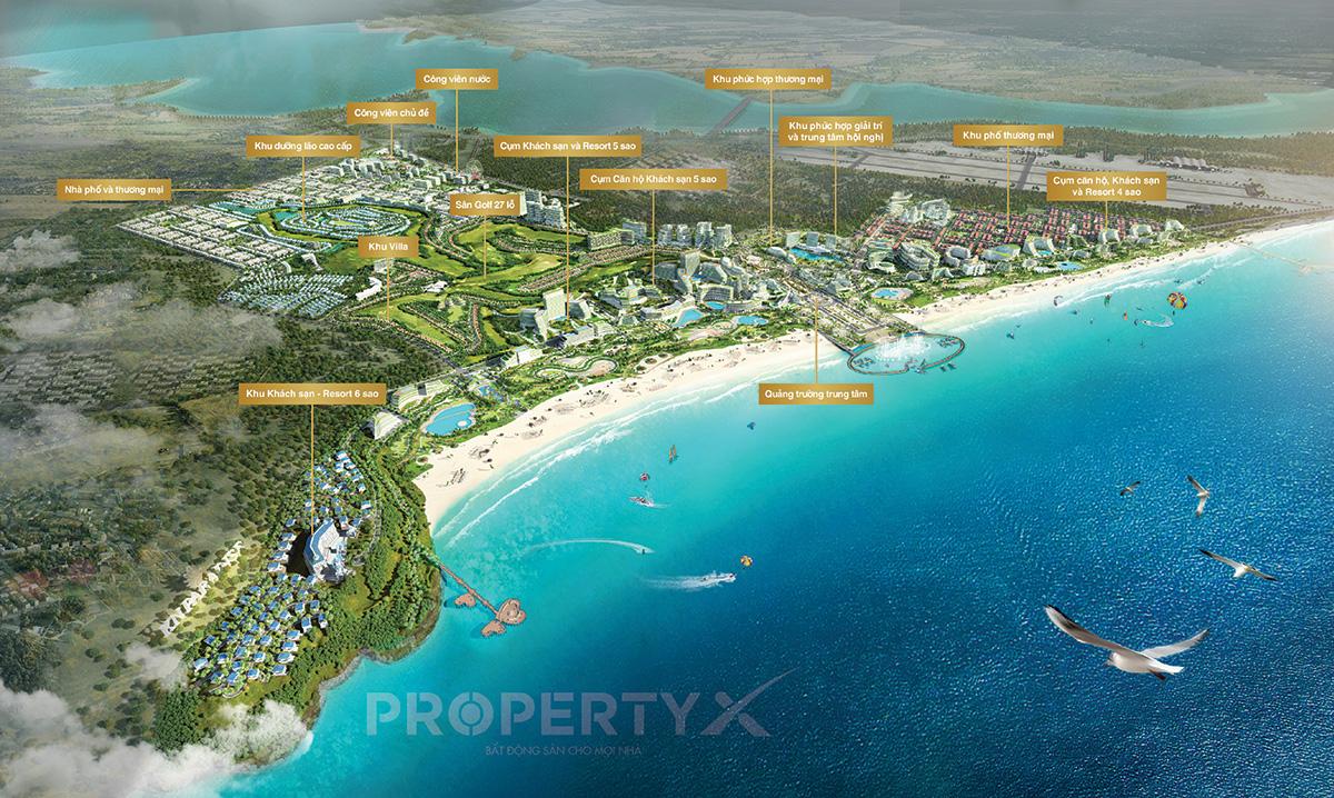 Khu phức hợp nghỉ dưỡng và giải trí KN Paradise với quy mô 800ha