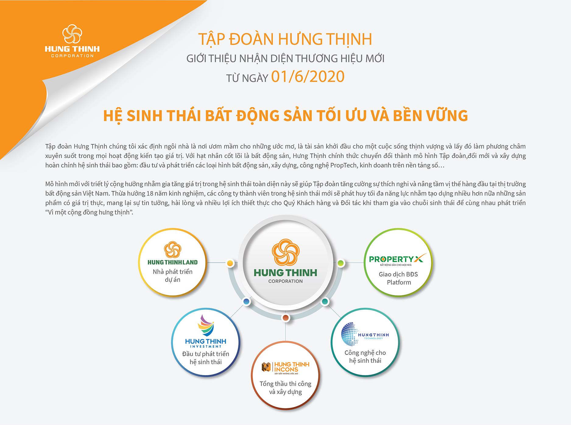 Hệ sinh thái tối ưu và bên vững của Tập đoàn Hưng Thịnh