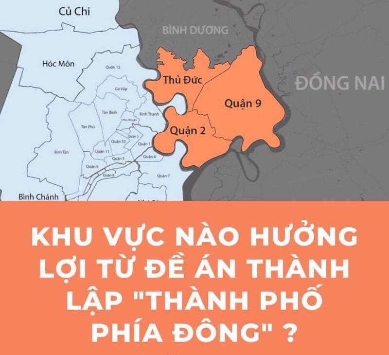 """Với việc thành lập """"Thành Phố Phía Đông"""" thì Dĩ An có lợi thế là giáp ranh với Q.Thủ Đức"""