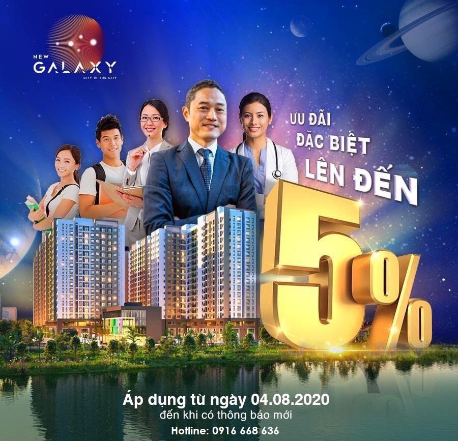 Chương trình ưu đãi dành cho khách mua căn hộ New Galaxy Hưng Thịnh