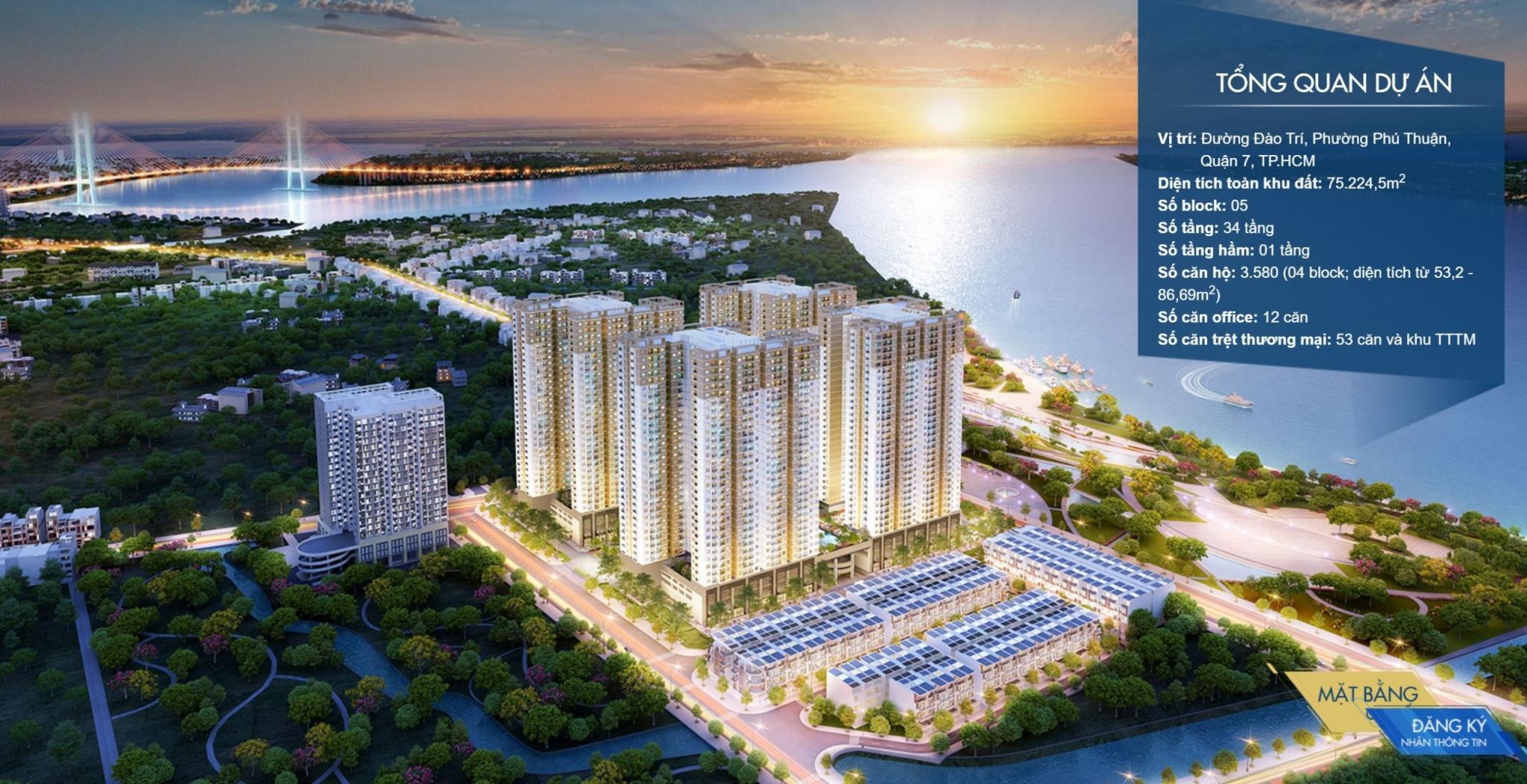 Tổng quan dự án Q7 Saigon Riverside Complex (Q7 Đào Trí) của tập đoàn Hưng Thịnh