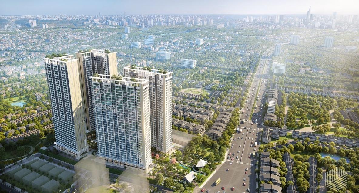 Phối cảnh dự án Lavita Thuận An Bình Dương của Hưng Thịnh